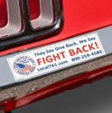 Union Bumper Stickers, Union Bumper Magnets, Union Made & Union Printed