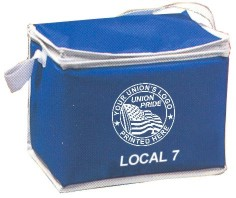 Union Picnic Coolers, Union Made & Union Printed