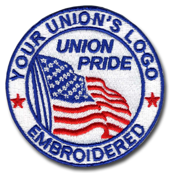 Union Embroidered Patches, Union Made & Union Printed