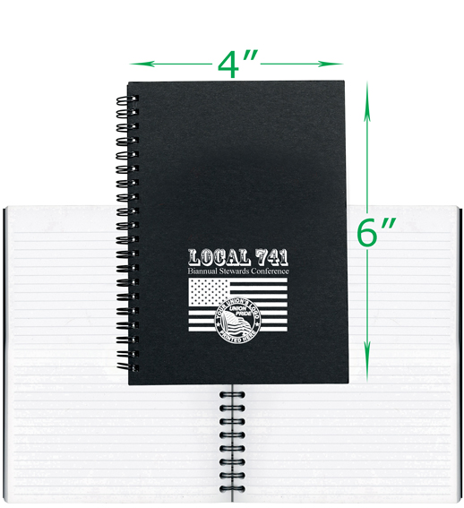 Union Printed Journal Books, Made in USA