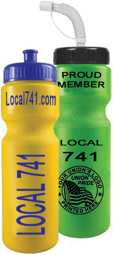 Union Water Bottles, Union Made & Union Printed