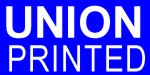 Union Printed -  Imprinted in 