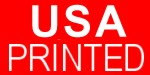 USA Printed - Imprinted